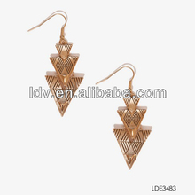 Carving Arrowhead Charm Earrings China Wholesale China Fashion Accessories