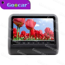 9 inch multi-function car headrest monitor with Support MP3, WMA, AC3, EAC3, M4A and other audio formats