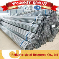 SCH40 STANDARD LENGTH OF GALVANIZED PIPE