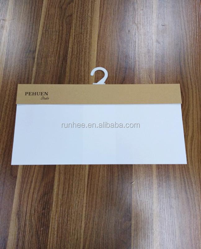 Fornecedores china novo design preço amostra de tecido de papel kraft papelão cabides/cabide para amostras de tecido