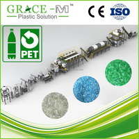 CE ISO Approved Top Brand PET Bottle Washing Recycling Line