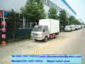 5 ton caminhão freezer freezer de alimentos caixa de transporte caminhão carro mini geladeira