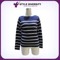 2015 Hot Sales Nice Quality Customized Design Korean Sweater Mature Women Wear