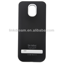 Rechargeable Power Bank Battery Case with Stand For Samsung Galaxy S4 IV mini i9190