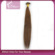 New Arrival Nail Tip Hair Top Quality Unprocessed Factory Price Flat Tip Keratin Virgin Remy Brazilian Human Hair