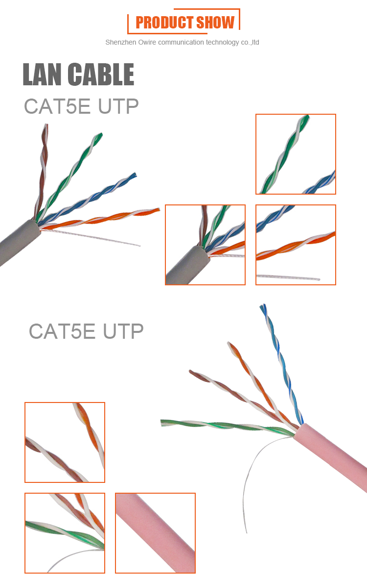 Bc Cca 2 Pairs Color Code Utp Cat5e Lan Cable Buy Cat 5 Wiring Diagram On 27 Cat5 02