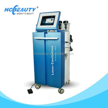 LS650 laser cavitation system,cavitation&6 polar rf&vacuum&lipolaser multifunction,obvious result on body contouring