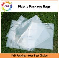Wholesale Transparent Custom PE Plastic Bags For Food Vacuum Package