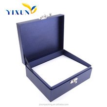 2015 New style simple blue Special birthday gift packing box/Gift Packaging Box for friend's birthday