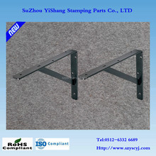 Custom metal wall shelf bracket