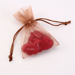 full bright small gift bags purple/ wholesale organza bags/ fashion jewellery branded fancy gift bags