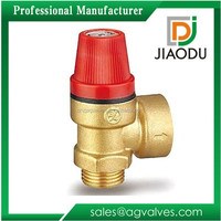 1 1/4 3/4 2 Inch 2 6 bar Npt Adjustable Air Water Pressure Relief Valve