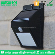 The new best-selling Europe and the United States led the staircase corridor lamp solar induction lamp The body electric dual in