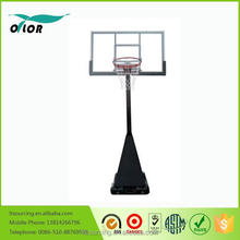Wholesale good price best quality movable screw jack lift adjustment mechnism outdoor deluxe portable 10' basketball stand