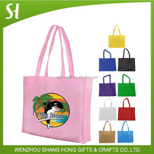 Alibaba ECO-Friendly Recycled Non Woven Material Reusable Tote Bag For Promotion