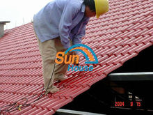 heat resistant synthetic thatch roof 20 years life span