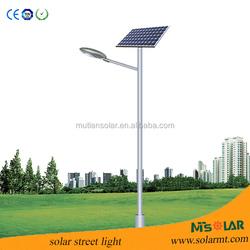 6m pole 30w solar street light & solar garden light work 10 to 12 hrs a night