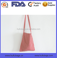 China Manufacture full printed fabric women's shopping bag