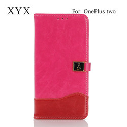 Best choice for Entertainment with the book stand style leather case for one plus 2, cover case for one plus two
