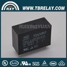 General Purpose 24v relay board TIANBO TRA1-D-12VDC-S-H 10A/30VDC relay 24v dc