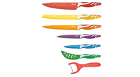 6 pcs knives set with marble coating from royalty line