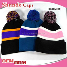 New Products Beanie Hat Knitted Hats Ball Men Hats