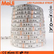 High brightness smd 5050 flexible led strip rgb low voltage energy saving