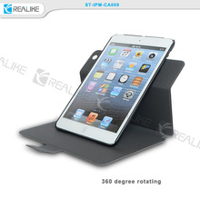 top grade quality for ipad 2 mini 360 rotating case leather