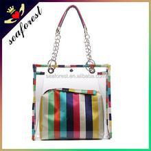 Beach handbags PVC clear bags