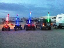 200cc atv racing atv led whip light