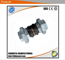 DIN standard PN16 threaded rubber expansion joint alibaba express