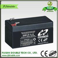 Agm lead acid maintenance free battery 12v 1.3Ah for UPS