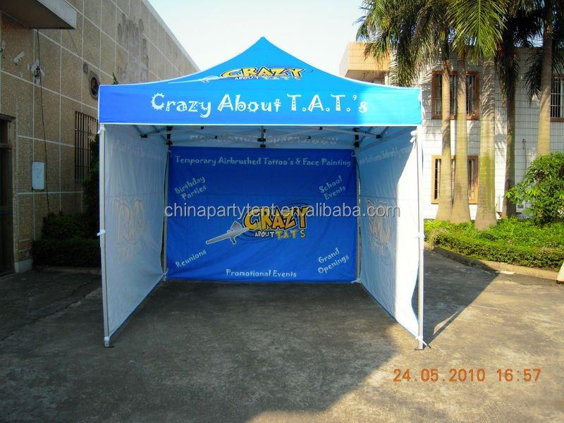 Aluminum Folding Gazebo : Advertising aluminum pvc gazebo canopy folding tent