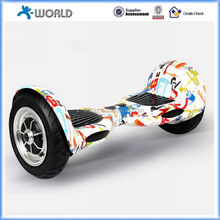 Two Wheel Smart Balance Electric Scooter with Fashion Printing and LED Light