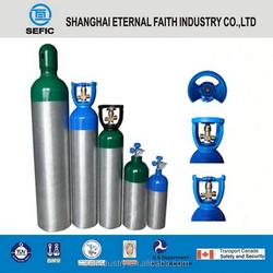 DOT/GB5099 20L*150Bar* 17kg Wholesale Aluminum Gas Cylinder