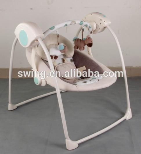 Nuevo diseño silla columpio Muti-función de balanceo de bebé eléctrico . / Juguetes de balanceo /balanceo con música, puede comprar 200pcs