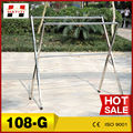 108g china fornecedor inovar gancho de pano, aço inoxidável roupa pendurada secador