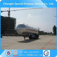 New condition Low temperature LPG gas transporting semi trailer truck for sale