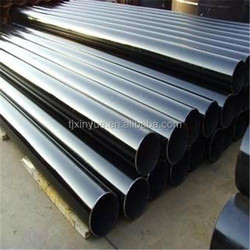 ASTM A 53 ERW oil and gas pipeline, carbon mild steel pipe, tubular piling pipe