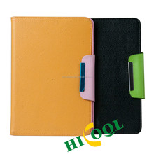Rotating PU leather case for Ipad mini2