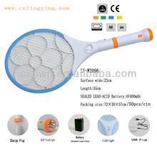 New Rechargeable Electronic Mosquito Racket fly insect traps