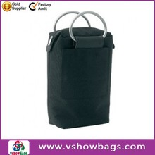 600D polypropylene with leather-look trim. Deluxe 2 Bottle Cooler Bag