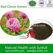 Red Clover Extract/Trifolium Pratense /8%-40% Total Flavone by UV