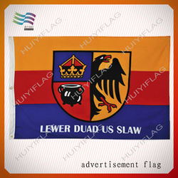 NO MOQ And NO Set Up Fee Fast Delivery Advertising Custom Flag