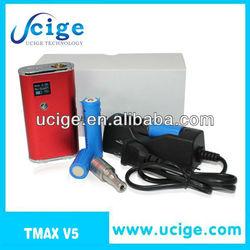 electronic hookah vaporizer e cigarette new Tmax V5 Vv Vw and mobile power function