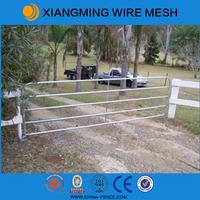 2015 New design low price galvanized iron farm gate