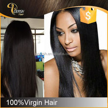 Promotional 6A Top Grade No Shedding healthy belle madame german synthetic hair wig