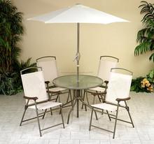 6 unids ocio honda exterior muebles de jardín