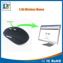 Customized optical 2.4g driver wireless usb mouse for ptomotional gift