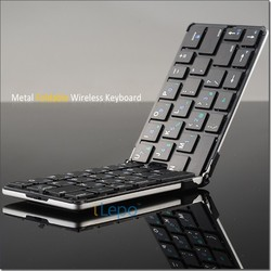 For ipad mini bluetooth keyboard, wireless aluminium alloy bluetooth keyboard wholesale retail